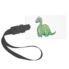 brontosauraus copy.jpg Luggage Tag