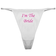 I'm The Bride Classic Thong