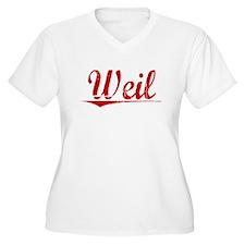 Weil, Vintage Red T-Shirt