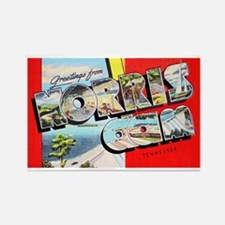 Norris Dam Tennessee Greetings Rectangle Magnet