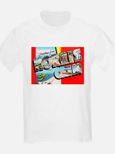 Norris Dam Tennessee Greetings T-Shirt