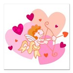 cute little cupid.jpg Square Car Magnet 3