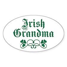Irish Grandma Decal