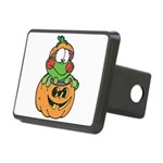 frog in pumpkin copy.png Rectangular Hitch Cover