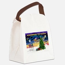 Remember-Christmas Sunrise.png Canvas Lunch Bag