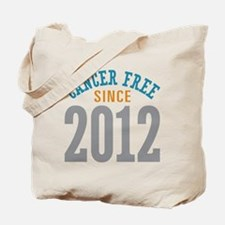 Cancer Free Since 2012 Tote Bag