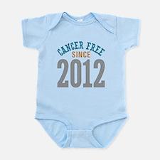Cancer Free Since 2012 Infant Bodysuit