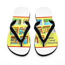 Long Island New York Flip Flops