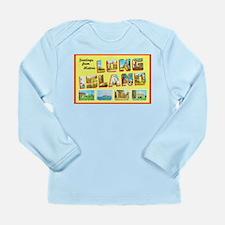 Long Island New York Long Sleeve Infant T-Shirt