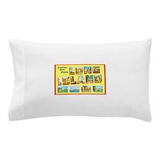Long Island New York Pillow Case