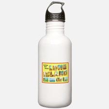 Long Island New York Water Bottle