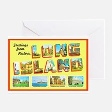 Long Island New York Greeting Card
