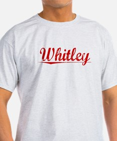 Whitley, Vintage Red T-Shirt
