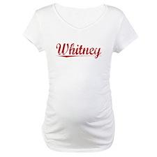 Whitney, Vintage Red Shirt