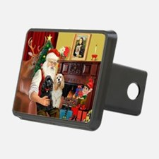 Santa's 2 Cockers Hitch Cover