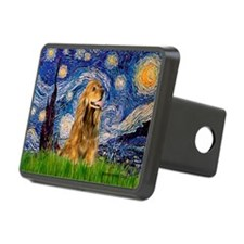 Starry Night/Cocker(#7) Hitch Cover
