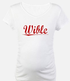 Wible, Vintage Red Shirt