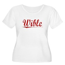 Wible, Vintage Red T-Shirt