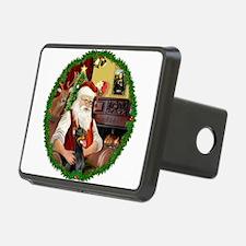 Santa's Doberman Pinscher Hitch Cover