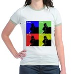 iPray Quad Jr. Ringer T-Shirt
