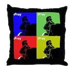 iPray Quad Throw Pillow