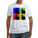 iPray Quad Fitted T-Shirt