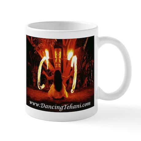 Dancing Tehani Fire Photo Two Mug