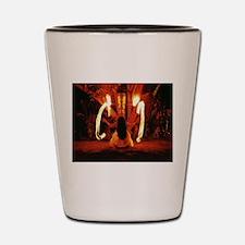 Fire Poi Shot Glass 2