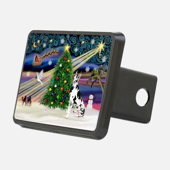 Xmas Magic Great Dane (H) Hitch Cover