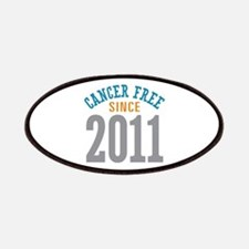 Cancer Free Since 2011 Patches
