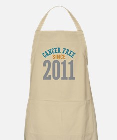 Cancer Free Since 2011 Apron