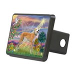 Cloud Angel & Greyound Rectangular Hitch Cover