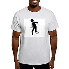 Stick Runner Ash Grey T-Shirt