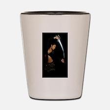 Dancing Tehani Scimitar Shot Glass