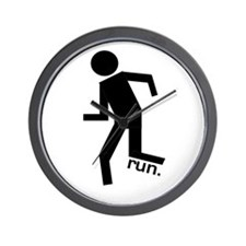 Stick Runner Wall Clock