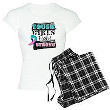 Tough Girls Thyroid Cancer Pajamas