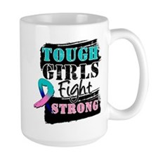 Tough Girls Thyroid Cancer Mug