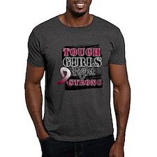 Tough Girls Throat Cancer T-Shirt