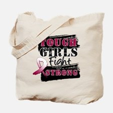 Tough Girls Throat Cancer Tote Bag