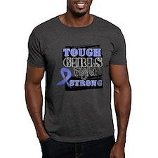 Tough Girls Stomach Cancer T-Shirt