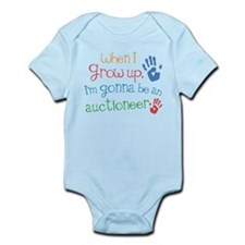 Kids Future Auctioneer Onesie