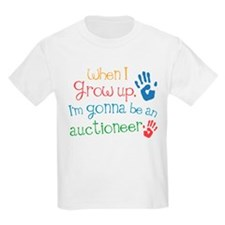Kids Future Auctioneer T-Shirt