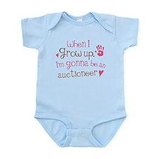 Kids Future Auctioneer Infant Bodysuit