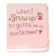 Kids Future Auctioneer baby blanket