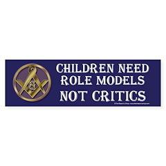 Children and Freemasons Bumper Sticker