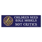 Children and Freemasons Sticker (Bumper)