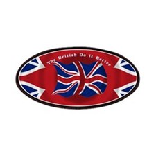 The British Do it Better Patches