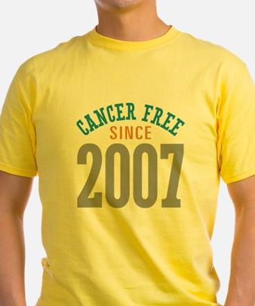 Cancer Free Since 2007 T