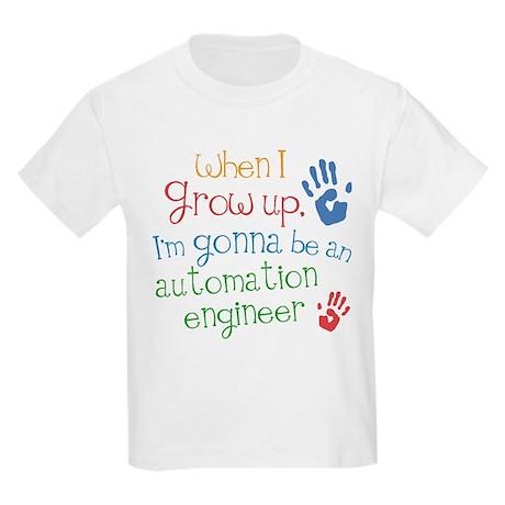 Future Automation Engineer Kids Light T-Shirt
