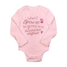 Future Automation Engineer Long Sleeve Infant Body